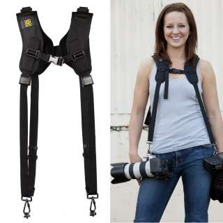 New 2012 BlackRapid RS DR 1 Double Strap for Two Camera Black Rapid
