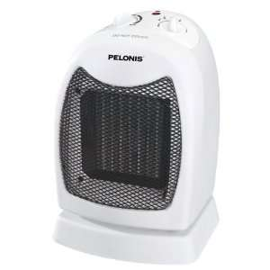 2 each Pelonis Oscillating Ceramic Heater With Thermostat