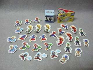 New Super Mario Bros. Wii Stickers Set 30 Pcs. Set [E]