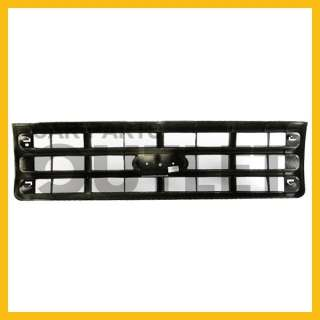 1987 1988 FORD F350 PICKUP TRUCK GLOSS BLACK GRILLE XLT