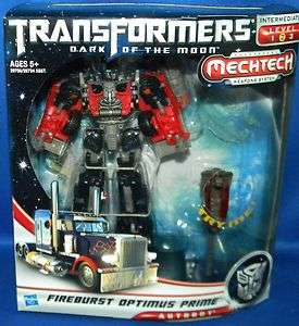 Side Moon Voyager FIREBURST OPTIMUS PRIME Minor Packaging Ware