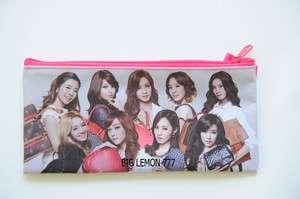 SNSD GIRLS GENERATION Zipper Pen Pencil Case Bag Pouch K15