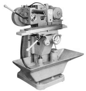 BURKE No 2 Horizontal Milling Machine Manual Mill