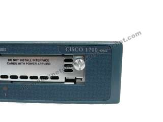 Cisco 1760 Router w/ Call Manager 4.1 CME 128D/32F |