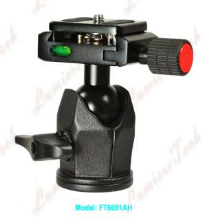 FT6691AH Pro Camera Tripod Action Fluid Drag Ball head