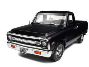 1972 CHEVROLET FLEETSIDE PICKUP TRUCK MATT BLACK 1/18 804902508790