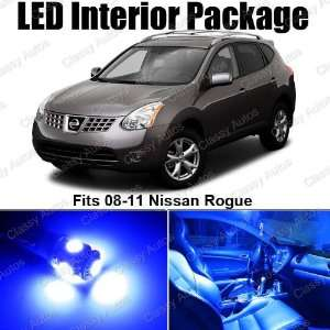 Nissan Rogue Blue Interior LED Package (6 Pieces)