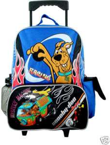 Scooby Doo ROLLING BIG Backpack Bag Tote Wheels NEW