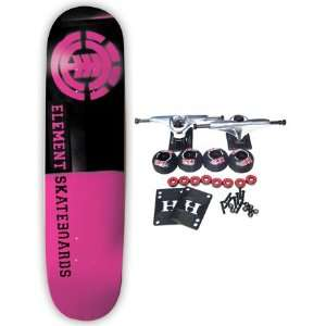ELEMENT SKATEBOARDS Complete Skateboard PINK DIVIDED