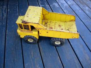 Vintage Metal Childs Construction Toy TONKA DUMP TRUCK